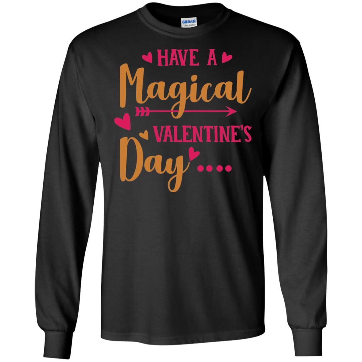Valentine Day Gildan LS Ultra Cotton T-Shirt