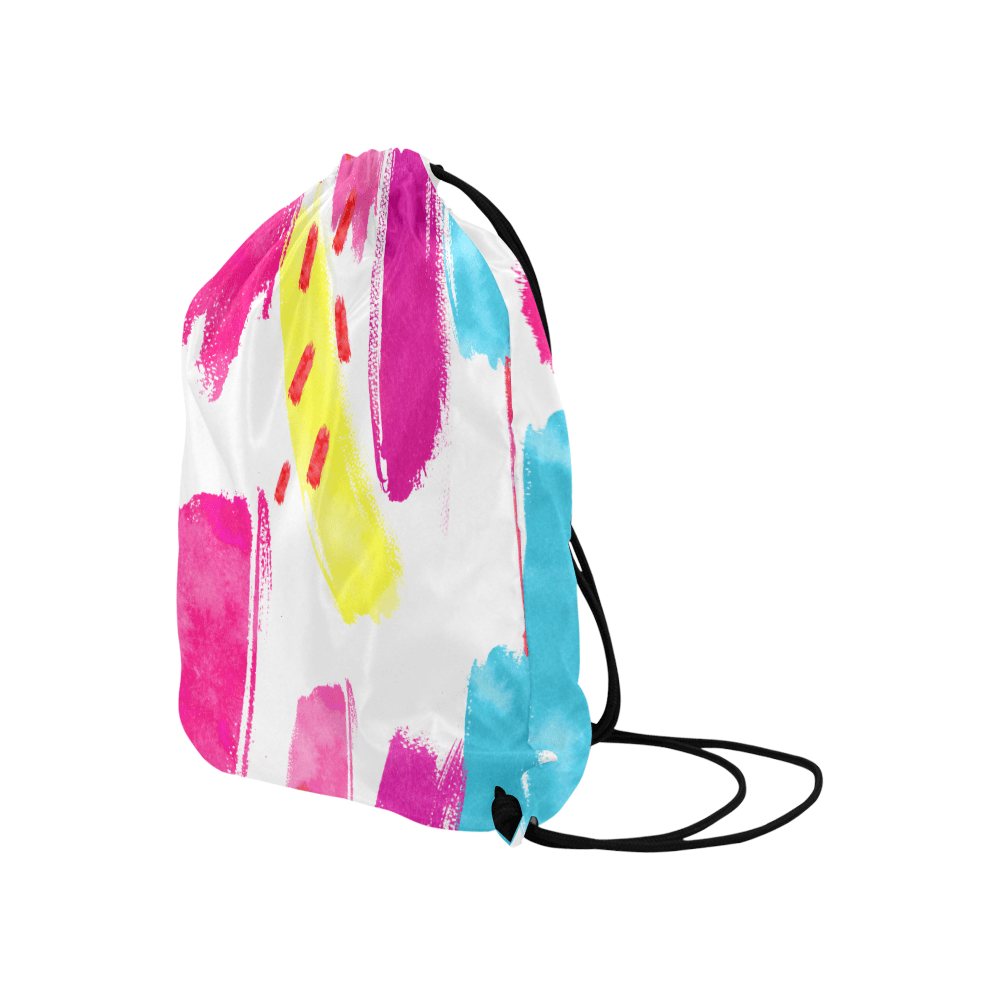 Latest Colorful Pattern Drawstring Bags