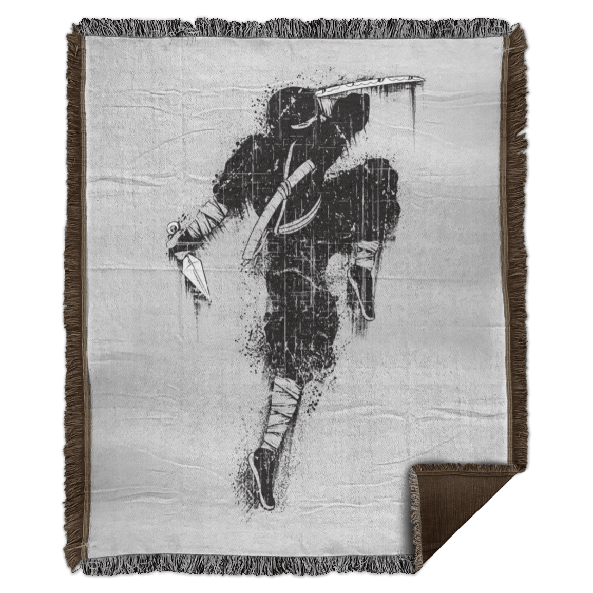 The Great Ninja Woven Blanket