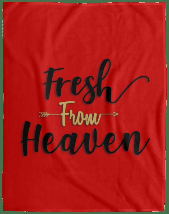 Fleece Blanket Fresh From Heaven